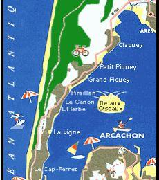 Vacances à Cap Ferret