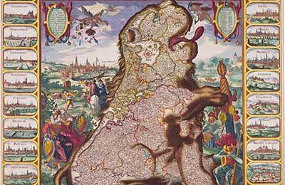 Leo Belgicus, une autre carte de la Belgique