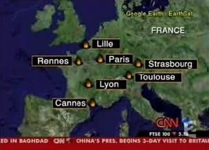 Du traitement médiatique par CNN des violences urbaines de novembre 2005 en France