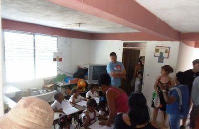 A Cuba, leur pierre à l'édifice La délégation landaise de Cacao venue faire l'état des lieux sur place de l'école cubaine aidée.