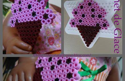 Dinette Cornet de Glace Perles HAMA - DIY