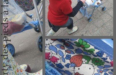 Assise de poussette pour poupées Liberty - Tuto DIY