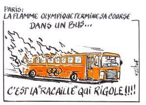 Paris s'enflamme Olympique, Paris brûle-t-il?