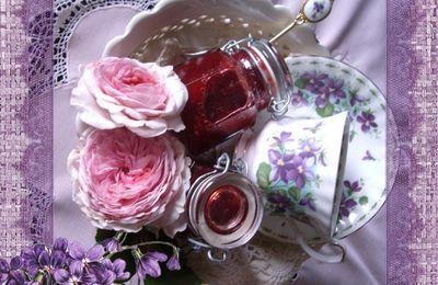 Fraise, Rose et Violette ...