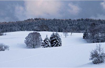 Coucher sur le Haut-Jura...
