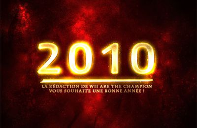 BONNE ANNEE 2010 sur Wii Are The Champion