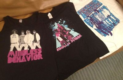 Mindless behavior : Gagnez 3 tee-shirts collector !