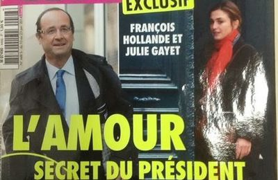 Closer : François Hollande sortirait avec l'actrice Julie Gayet !