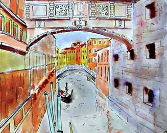 suite de l'épisode une gondole à Venise