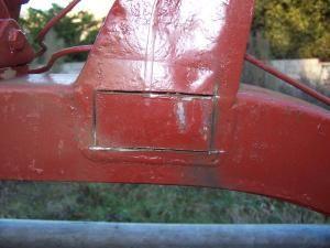 6 chassis réalisation pièce sur traverse