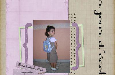 La rentrée scolaire de Ninon