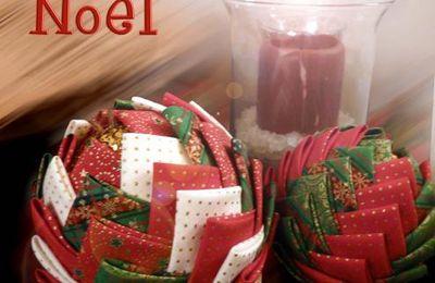 Tuto boules déco de Noël