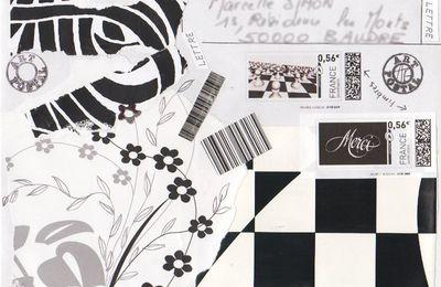 série en noir et blanc
