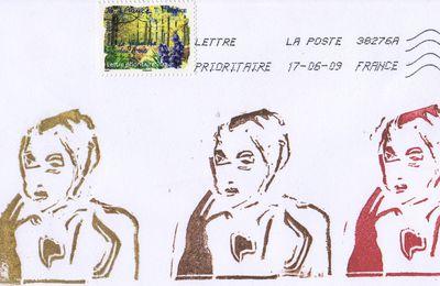 Stamp'art d'Aliette, de Venise, de Raymond