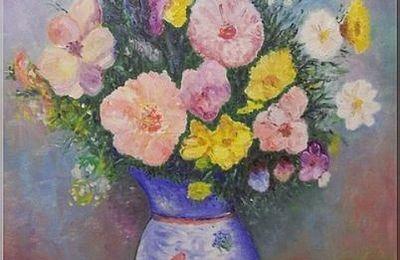 Bouquet de fleurs.