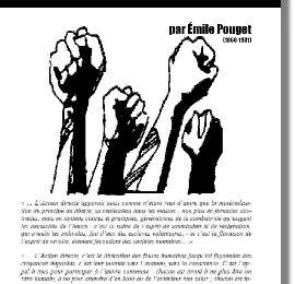 Brochure : L'Action Directe, d'Emile Pouget