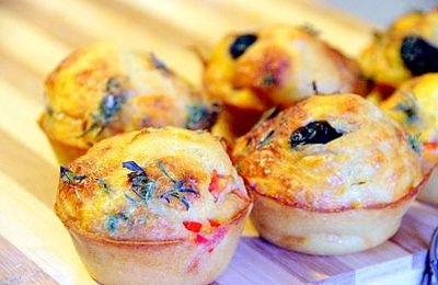 Pizzas-muffins