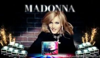 Madonna's new album ''MDNA'': Watch the TV ad for France