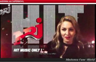 Madonna will talk to you tomorrow on NRJ - 7:30 am - February 7, 2012