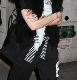 Madonna in New York - January 27, 2012