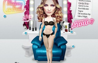Game: Dress Madonna and choose her song