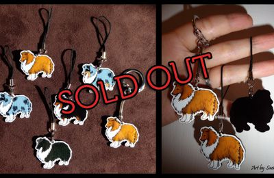 "Annonce : Charms ""Sheltie"" sold out"