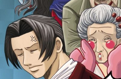 "Fanart : ""Edgey-poo"" (Miles Edgeworth Investigations)"