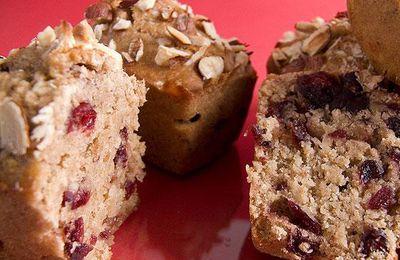 Petits pains au muësli et cranberries