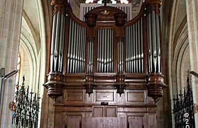 L'orgue de Notre-Dame de Niort