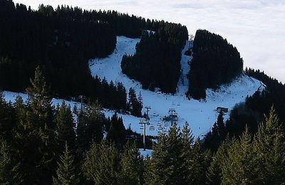 Ski au coucher de soleil, de nuit à Prapoutel 7 Laux, Dôme des Oudis
