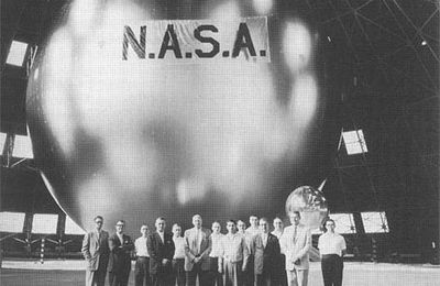 """ECHO 1"" le premier satellite de communications passif, lancé en 1960"