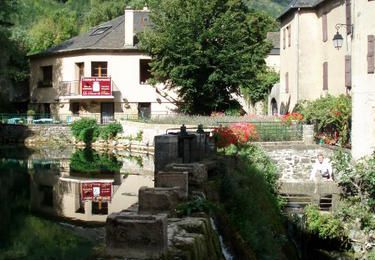 Florac en Lozère.