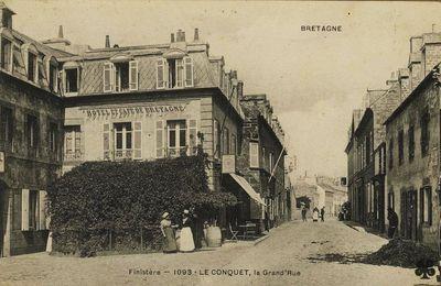 LE CONQUET, les morts mystérieuses de l'hôtel de Bretagne, texte JP Clochon.