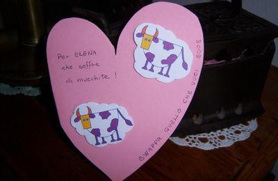 la mucca innamorata