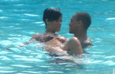 RIHANNA et CHRIS BROWN: ILS VIVENT LEUR AMOUR AU GRAND JOUR (photos)