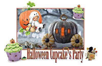 Concours : Halloween Cup Cake's party
