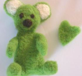 L'ours vert.