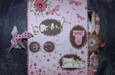 Un mini tout rose pour une petite famille qui voit la vie en rose