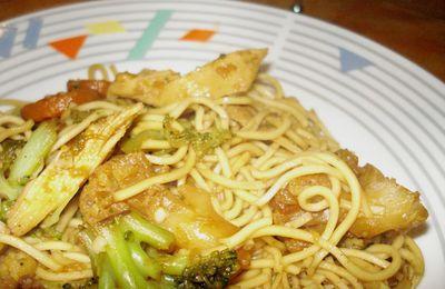 Un wok fond de congèlo ...