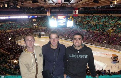 Les New-York Rangers au Madison Square Garden