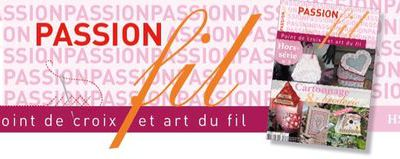 PASSION FIL HS 3 CARTONNAGE & BRODERIE...
