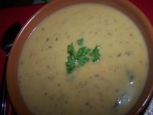 potage courgettes - tomates