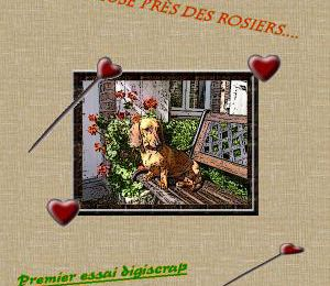 Je me lance dans le digiscrap (scrap digital) !!!!