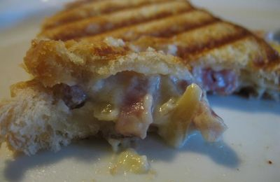 Croque monsieur Flamenkuche