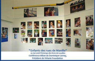 "Vernissage de l'exposition photos ""Enfants des rues de Manille"""