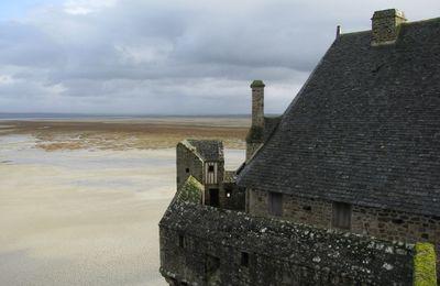 Le Mont Saint-Michel (9) : les remparts
