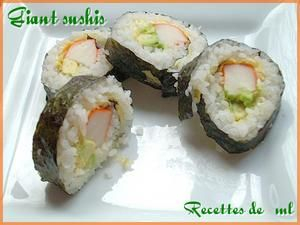 **Sushis version giant **