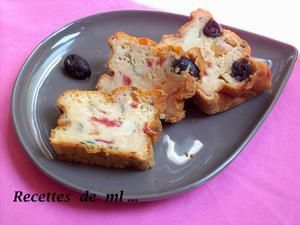Cake aux fromages et tomates