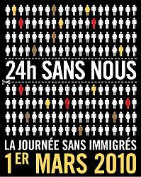 Le 1er mars: la journée sans immigrées