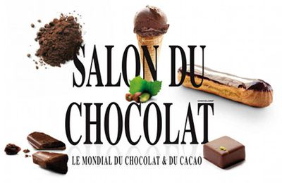 Salon du Chocolat à Paris du 30 oct au 3 nov. 3 places à gagner.